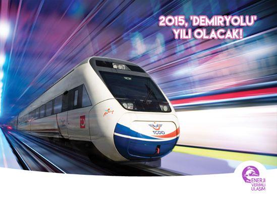 """2015 'demiryolu' yılı olacak  Ulaştırma Bakanı Elvan, 2015 yılında demiryolu yatırımlarına önem vereceklerini belirterek, """"9 milyar liralık demiryolu yatırımı yapacağız, yeni ihalelerimiz olacak"""" dedi.  Elvan, Konya-Karaman hattını 2015'de tamamlamış olacaklarını kaydederek, İstanbul-Edirne hızlı tren hattının ihalesini gerçekleştireceklerini, Mersin-Adana hızlı tren hattının yapımına da başlayacaklarını bildirdi.  #enerji #enerjiverimliliği #ulaşım #demiryolu"""