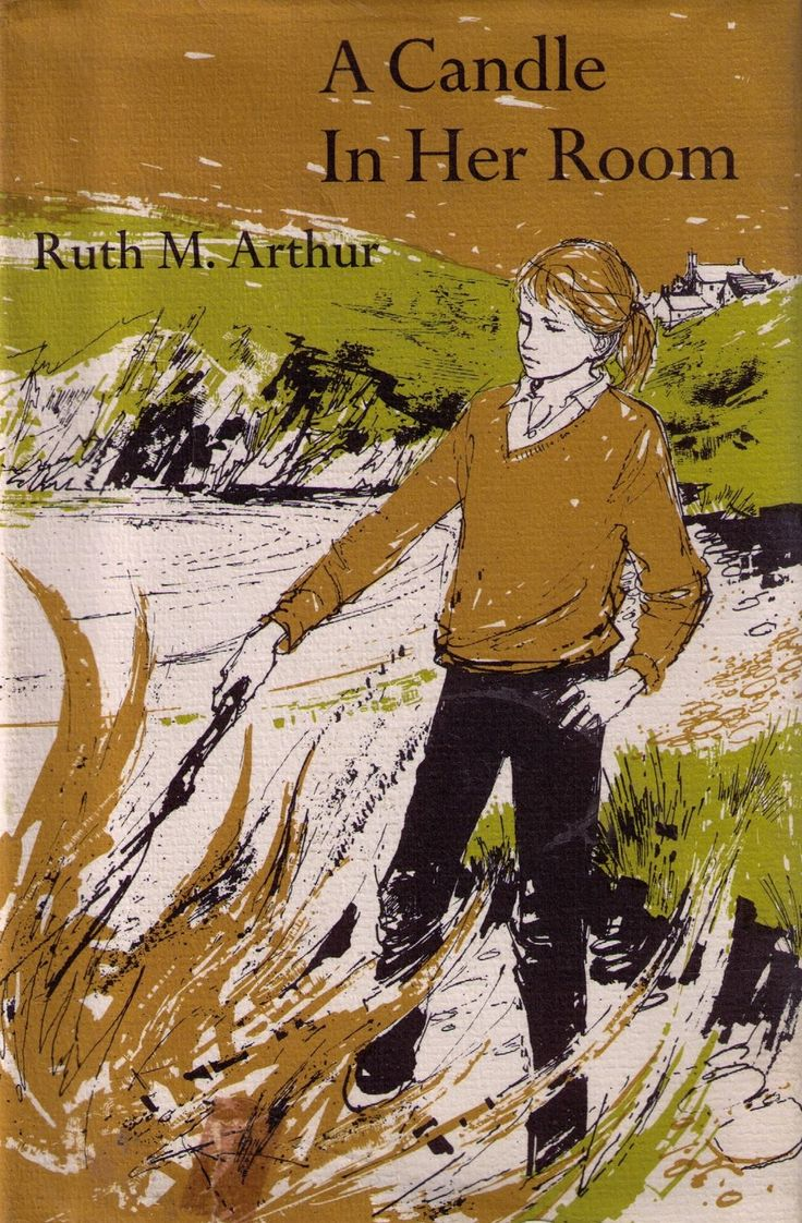 Cover illustration by Margery Gill for Ruth M Arthur's A Candle in her Room, 1966