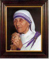 Framed Picture Book St Teresa.
