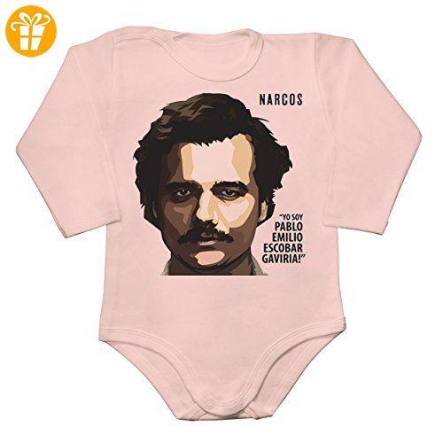 Yo Soy Pablo Emilio Escobar Baby Long Sleeve Romper Bodysuit Extra Large - Baby bodys baby einteiler baby stampler (*Partner-Link)