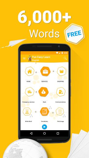 Learn Langauges - 6000 Words v5.28 [Mega Pack]   Learn Langauges - 6000 Words v5.28 [Mega Pack] Requirements:4.0.3 Overview:FunEasyLearn is the easy and fun new way to learn English - whether you like listening music from other countries travelling abroad working for an international company or chatting with foreign friends. Our app encourages your kids to learn speaking English quickly.  Get the FREE vocabulary app right now!  Learn  6000 words with images to illustrate words phonetic…