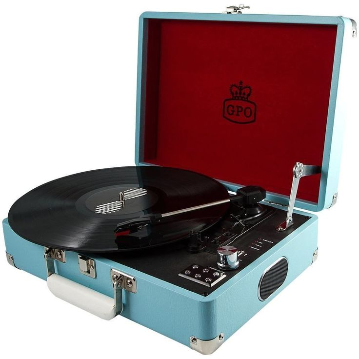 GPO UK Attache Case Turntable