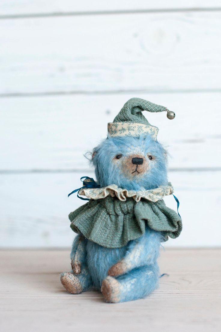 Teddy bear Cody by TeddyBearArkhipova on Etsy