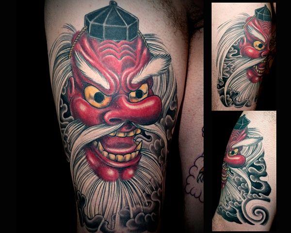 japanese tengu tattoo - Google Search