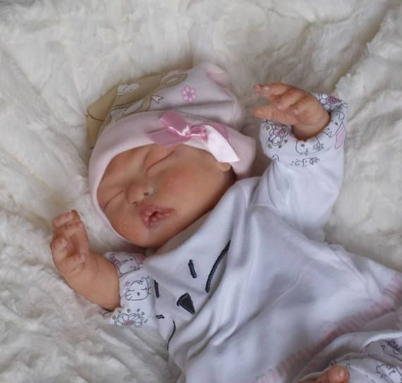 Silicone Baby girl-preemie Lin OoaKAsian