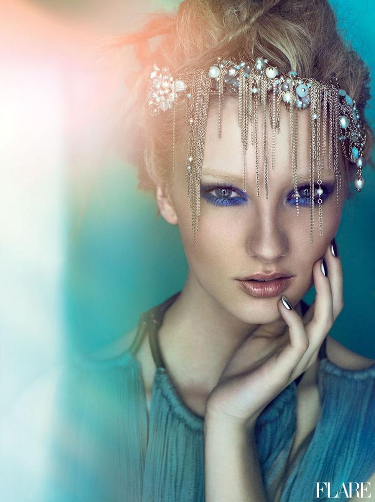 Into The Deep - June 2012 / Beauty Director: Carlene Higgins / Art Director: Tanya Watt / Photographer: Chris Nicholls
