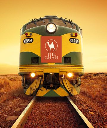 The Ghan -- overland service between Adelaide and Darwin