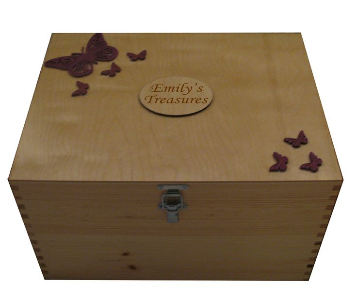 How To Make A Decorative Wooden Box: Personalised Decorative Large