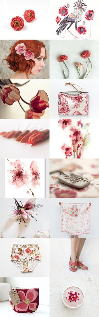 May Flowers by Mira Loyborg on Etsy--Pinned with TreasuryPin.com