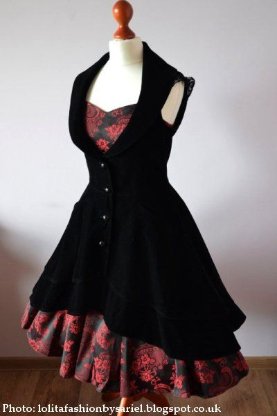 £50-ish This would be the WHOLE birthday budget and a couple £ over (it's the black velvet bit, not the red dress underneath).  I would need the size 22 (UK 24) to be sure because velvet is stiff,
