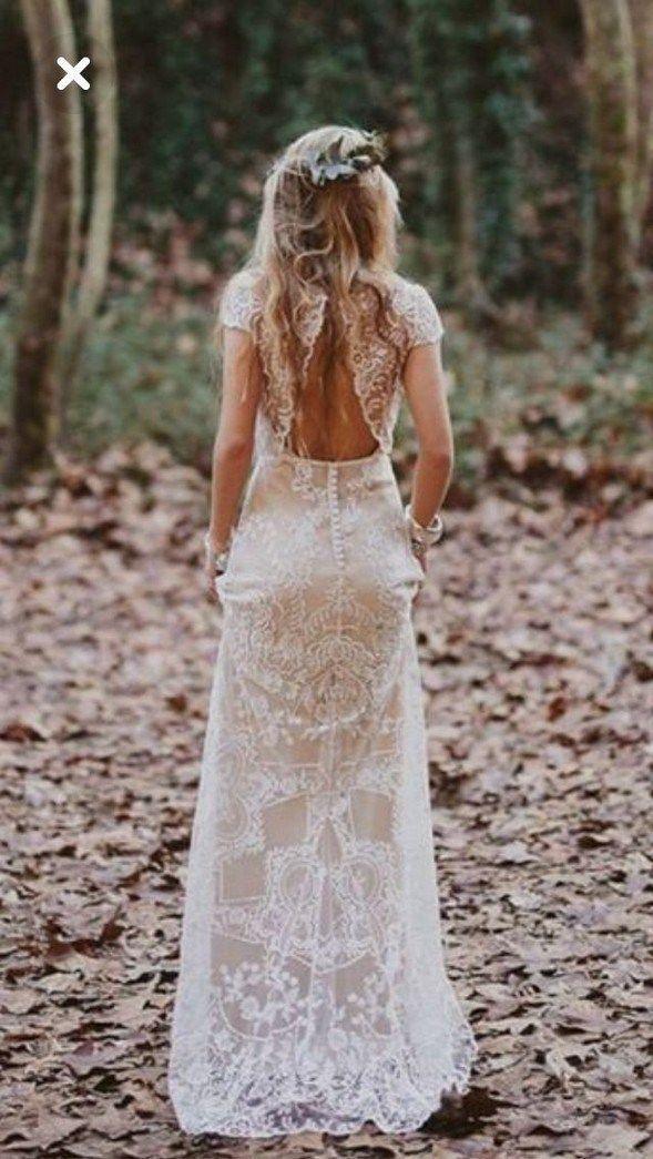 50+ unkonventionelle Brautkleidideen 44