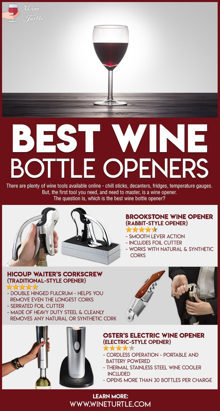 Best Wine Openers Top Reviews Picks For 2020 Wine Turtle Wine Opener Wine Cooler Wine Bottle Opener