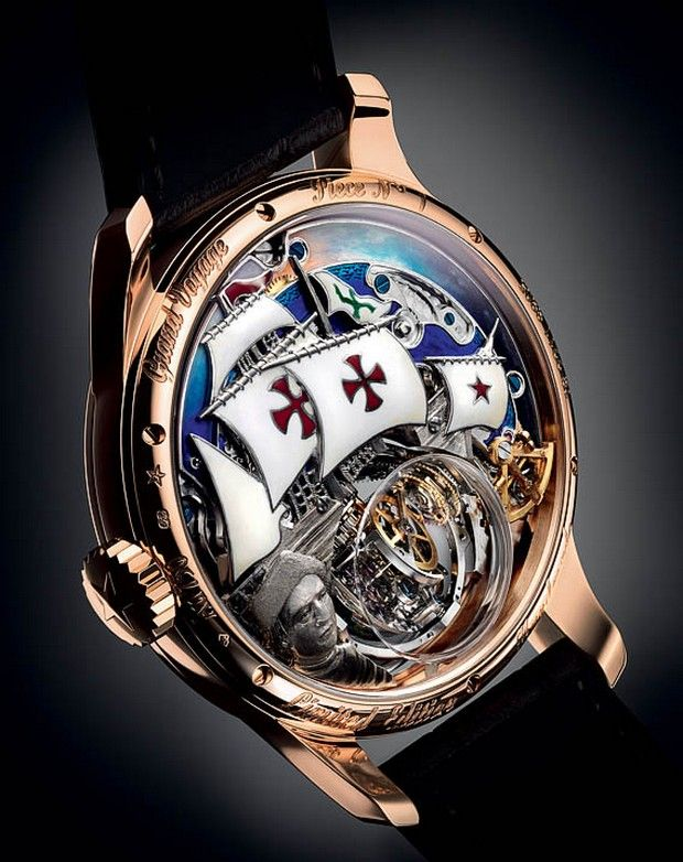 Christophe Colombe Hurricane Grand Voyage by Zenith