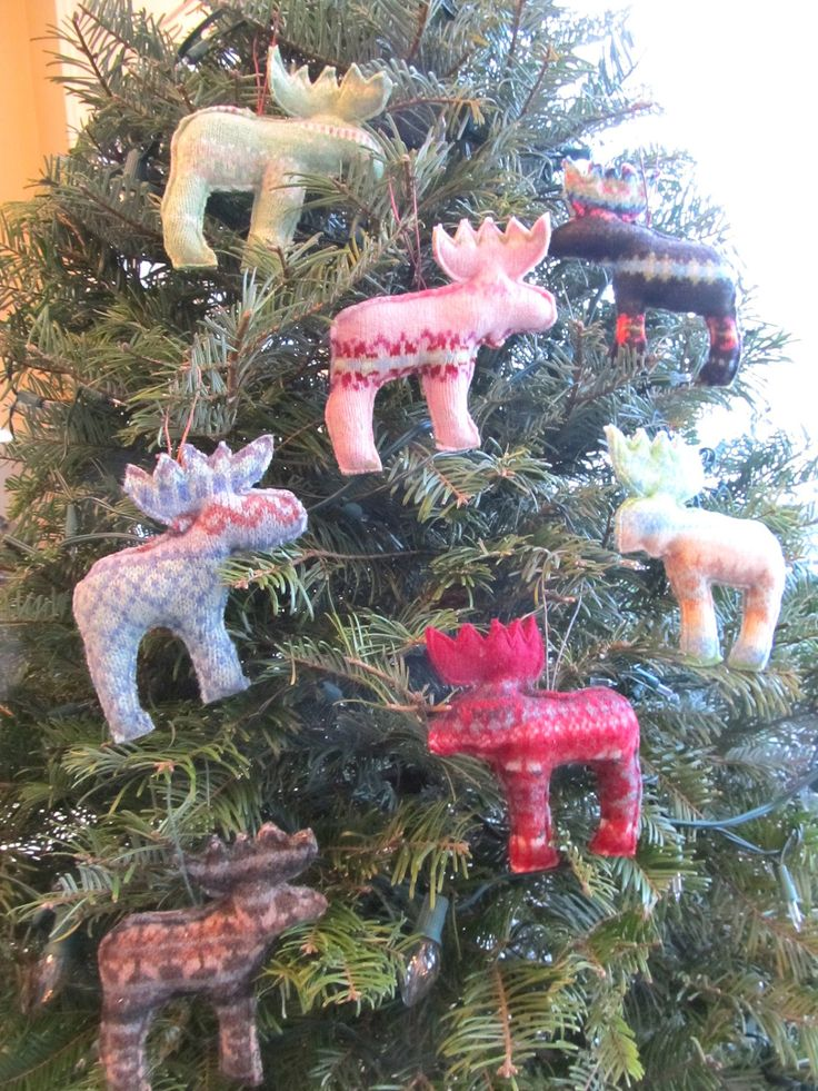 17 best Christmas images on Pinterest - moose christmas decorations