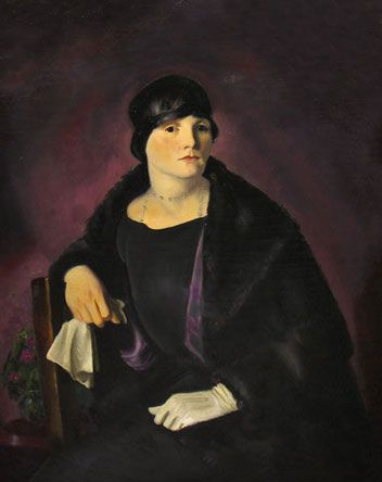 George Bellows : Mrs. Walter Richter