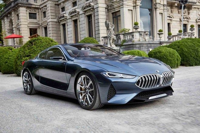 Exclusive Bmw 8 Series Concept Quick Drive With Images Bmw