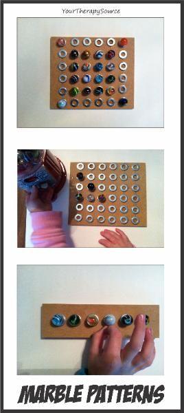 Make marble pattern boards