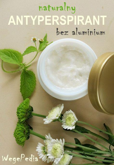 Naturalny ANTYPERSPIRANT bez aluminium – 3 składniki