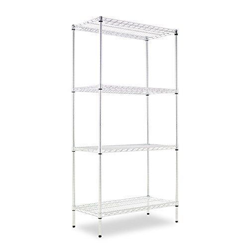#Storage Ideal storage solution for #industrial and commercial use. NSF food equipment certified. Strong welded wire construction. Can be set up as a #four-tier s...