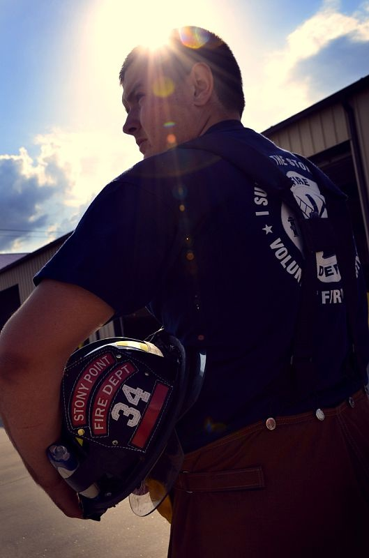 Senior Photo Session: Fireman Future  Copyright Amber S. Wallace Photography  http://amberswallacephotography.shutterfly.com