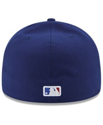 New Era Texas Rangers Authentic Collection 9-11 Patch 59FIFTY Fitted Cap - Blue 7 1/4