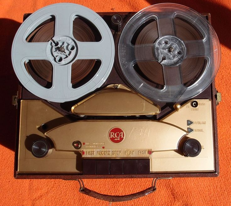 Rare RCA vintage reel-to-reel recorder, SRT 301, Very nice, with lots of tapes!