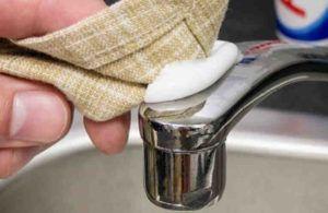 Как быстро и просто отполировать до блеска краны в ванной. Заблестят, как новые! - life4women.ru