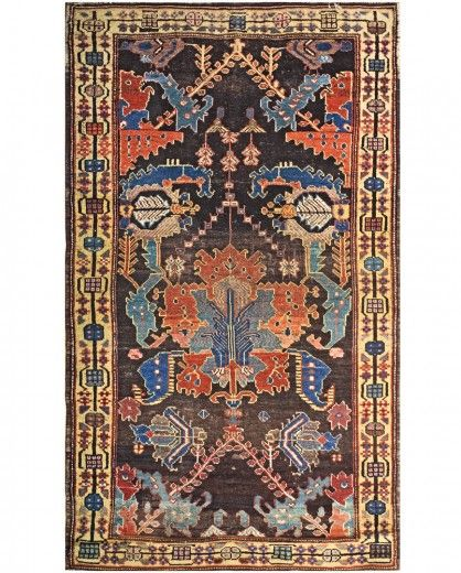 A Blue Red Black And Yellow Rug Carpet Available Through David E