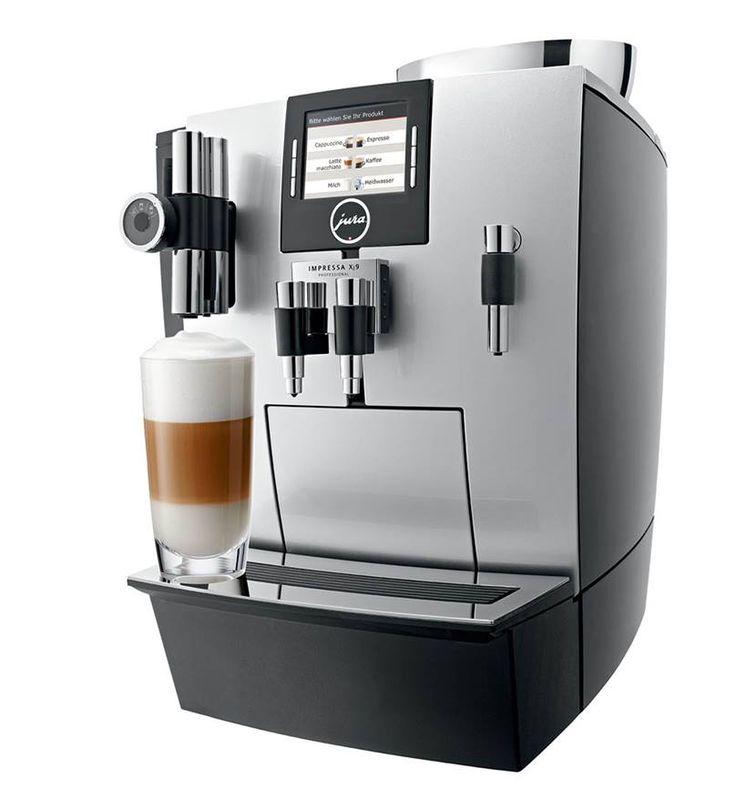 Profesjonalny ekspres do kawyImpressa XJ9 Professional wyprodukowany przez firmę Jura to obowiązkowy sprzęt w każdej restauracji, kawiarni, hotelu, czy też pensjonacie.