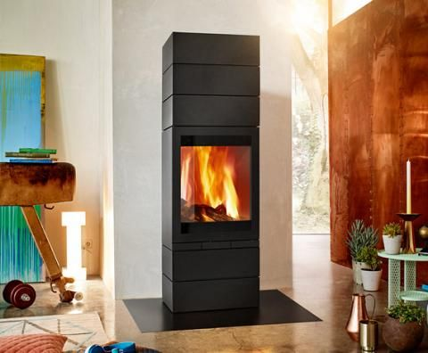 Chimney stove elements 603 Front - skantherm - We are on fire