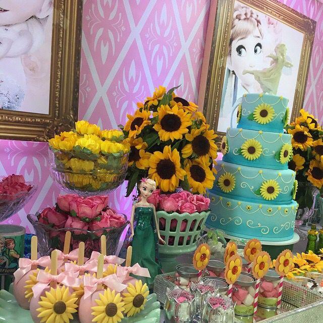 Disney Frozen Fever Birthday Party