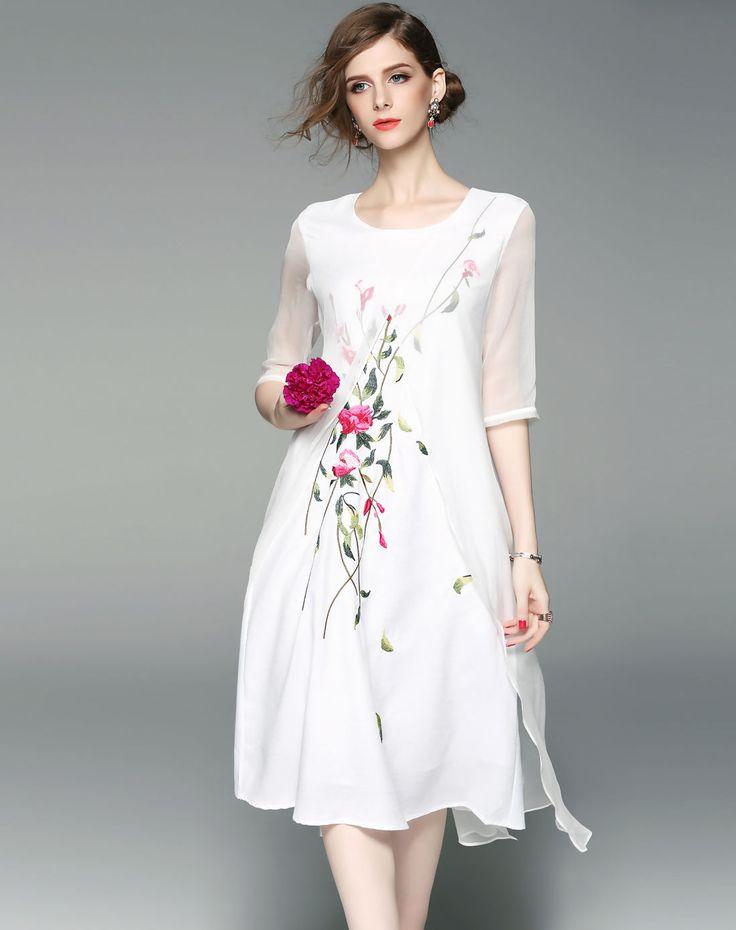 1000  ideas about White Silk on Pinterest - Silk fabric- White ...