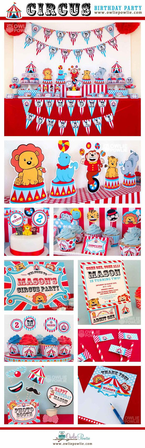 Hey, I found this really awesome Etsy listing at https://www.etsy.com/listing/165436612/vintage-circus-birthday-party-printable