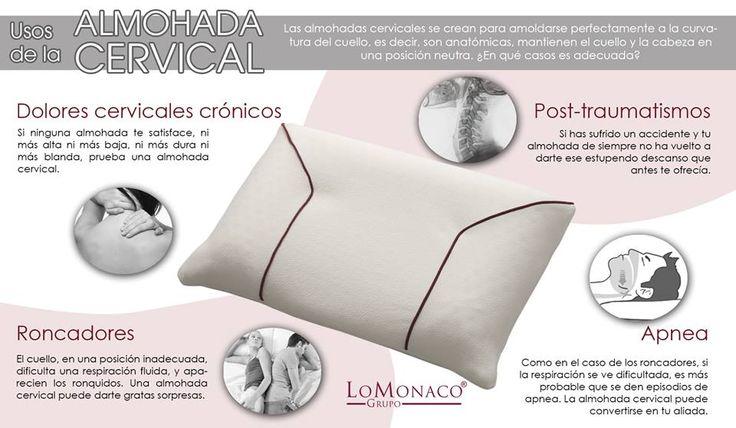 ¿Sabes cuales son los usos de la almohaca cervical? Aquí Lo Monaco tips para optimizar su uso.