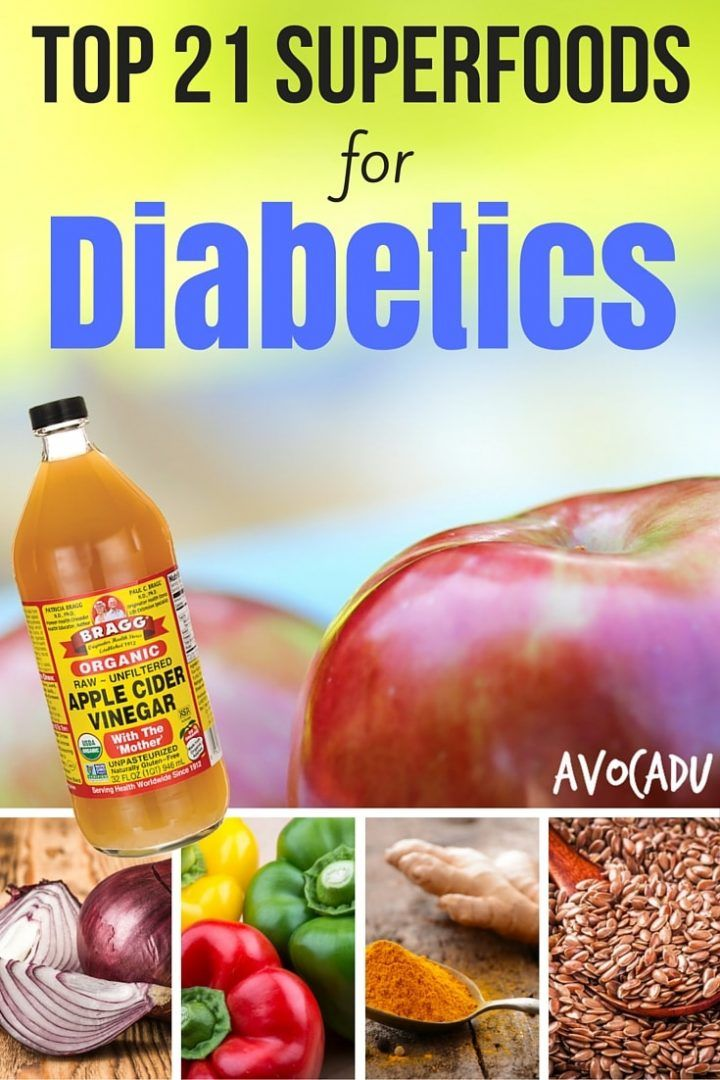 Top 21 Superfoods for Diabetics to Lose Weight | Diet for Diabetics | Diabetes Foods | Avocadu.com
