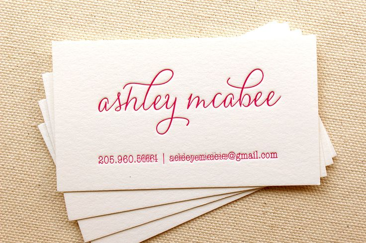 17 Best Ideas About Letterpress Business Cards On