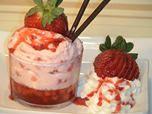 """Mi ultimo video en You Tube """"Vasitos de crema y gelatina con fresas"""".  Un postre suave y con un contraste muy agradable entre la crema y la gelatina que esta delicioso y encantara a todos.  El video en You Tybe: https://www.youtube.com/watch?v=hRtqU1_qysI"""