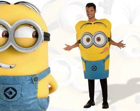 Be spell-bounding this Halloween as a Minions character!
