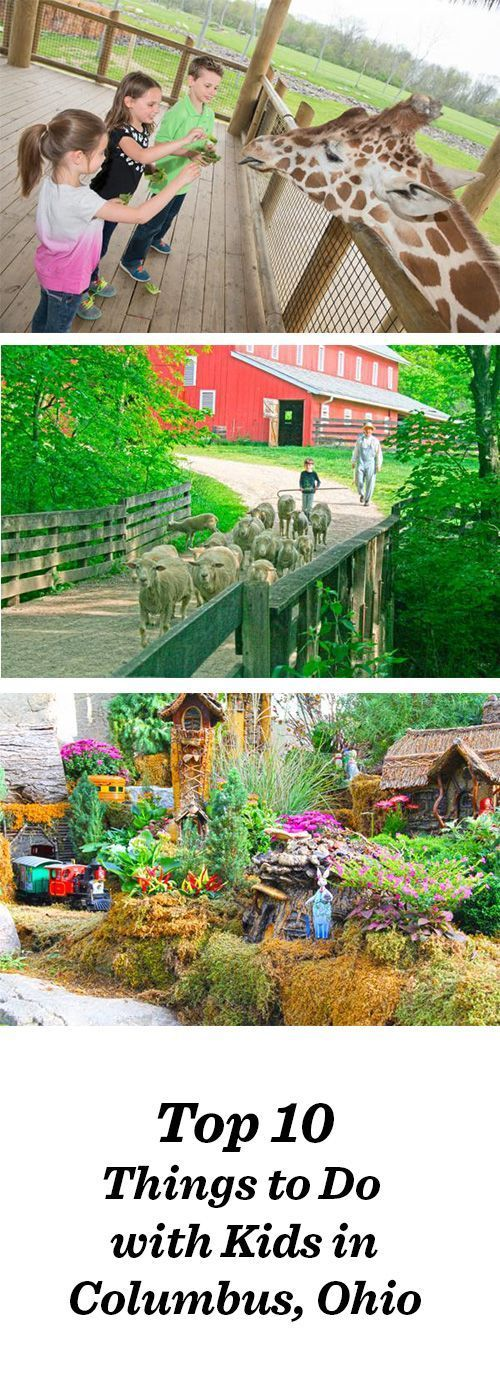 Top things to do with kids in Columbus, Ohio, include the State Historical Farm and the Columbus Zoo. See the complete list: http://www.midwestliving.com/blog/travel/top-10-things-to-do-with-kids-columbus/ Traveling with Kids, Traveling tips, Traveling #Travel