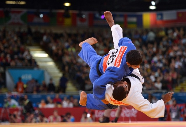 Highlights Of Lasha Shavdatuashvili's Stunning Gold - Judo Slideshows | NBC Olympics
