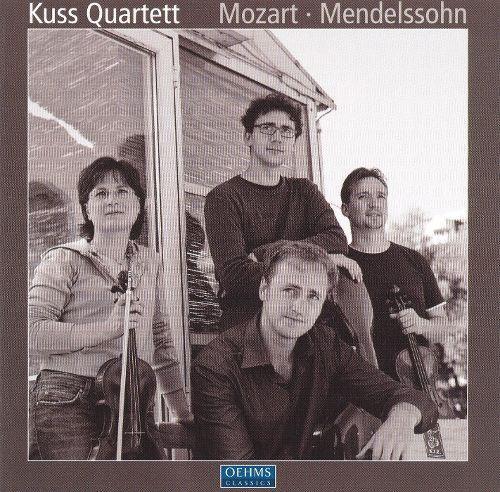 Mendelssohn: String Quartet, Op. 80; Capriccio, Op. 81/3; Mozart: String Quartet, KV80; Adagio and Fugue, KV 546 [CD]