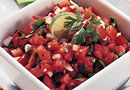 Pampered Chef Salsa recipe - used Chili Lime mix instead of Southwestern mix.