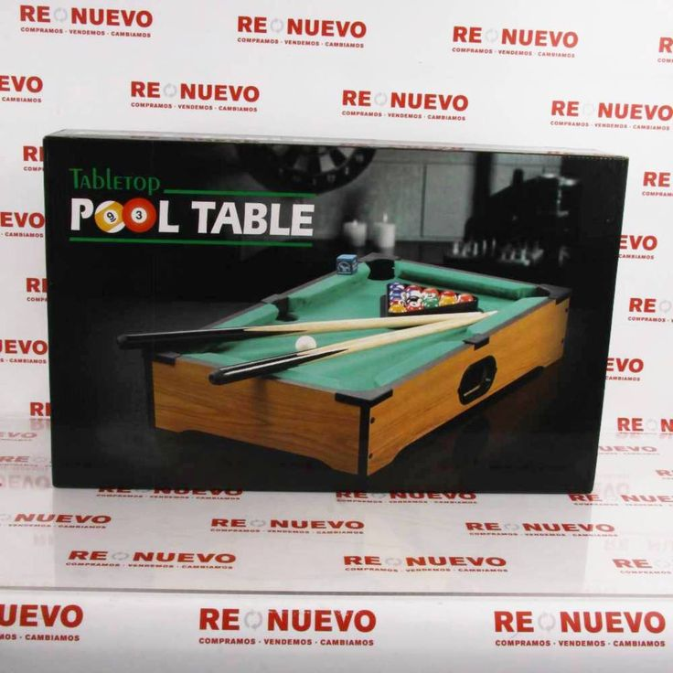 #Billar# POOL TABLE# en caja# de segunda mano E271746#segundamano#