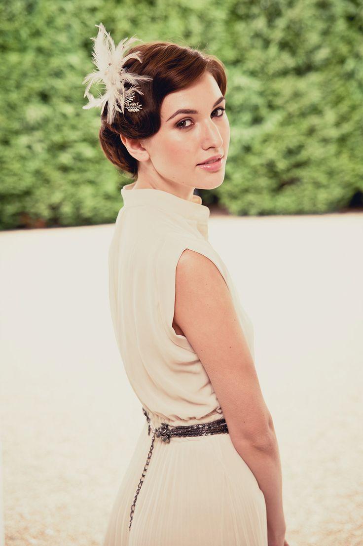 21 best Hairstyles images on Pinterest   Bridal hairstyles, Vintage ...