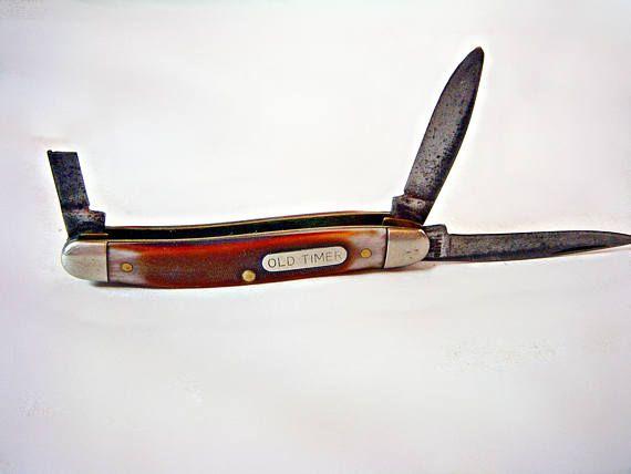 Old Timer ULSTER POCKET KNIFE Prince Albert Promotional