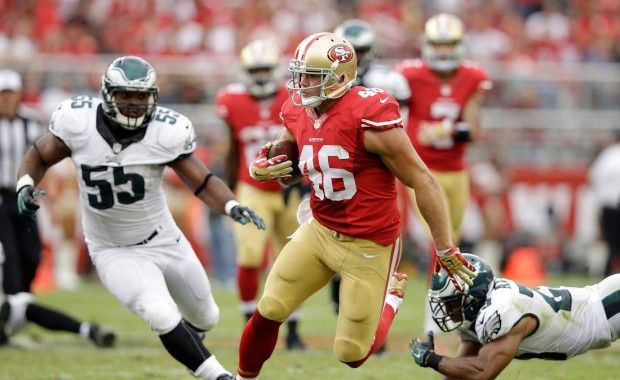 Redskins acquire TE Derek Carrier from 49ers for undisclosed draft pick | The Place For NFL News & Updates