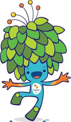 mascote, mascot, personagem, character Mascote dos Jogos Paralímpicos