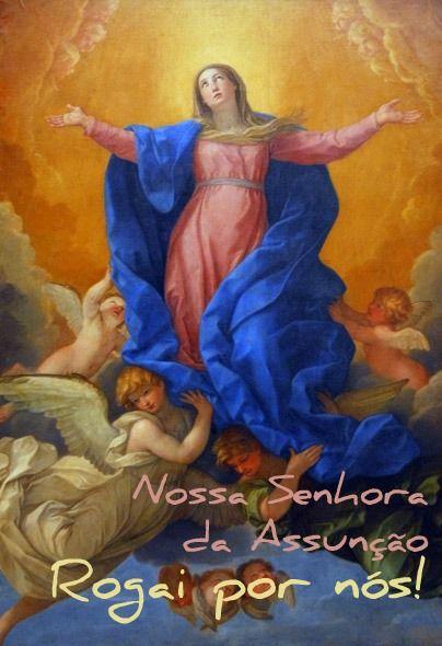 F.G. Saraiva: Assunção de Maria: como entender? O que significa?...