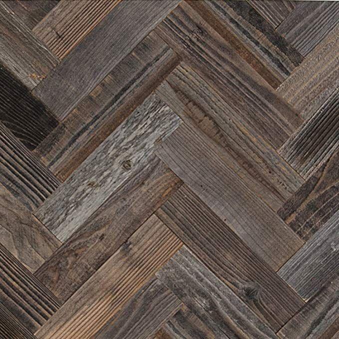 Epic Artifactory Diy Reclaimed Barn Wood Wall Herringbone