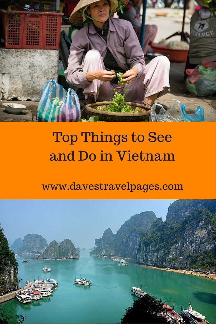 A Guide to the Top Things to See and Do in Vietnam - Read the full article to find out what you should see and do in Vietnam
